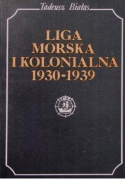 Liga Morska i Kolonialna 1930 - 1939