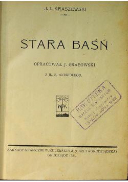 Stara baśń 1924 r