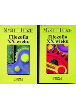 Filozofia XX wieku Tom I i II