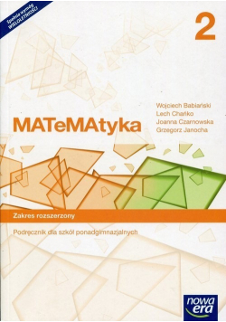 Matematyka 2 Podręcznik Zakres rozszerzony
