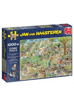 Puzzle 1000 Haasteren MŚ w kolarstwie przełajowym