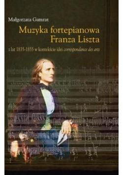 Muzyka fortepianowa Franza Liszta...