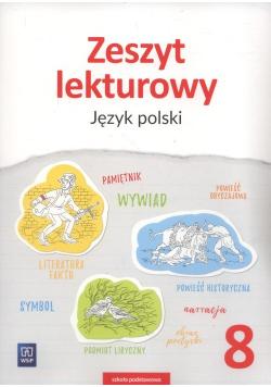 Zeszyt lekturowy Język polski 8 Szkoła podstawowa