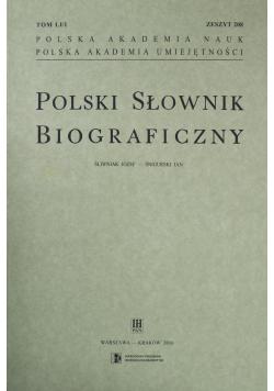 Polski Słownik Biograficzny zeszyt 203