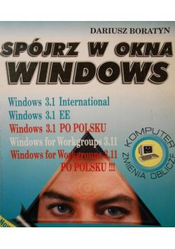 Spójrz w okno windows