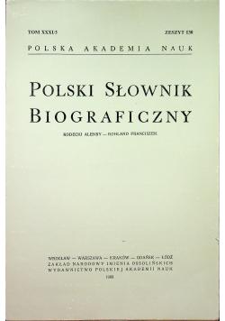 Polski słownik biograficzny Tom XXXI/3 zeszyt 130
