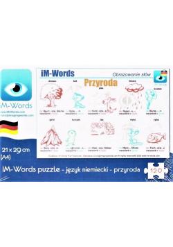 iM-Words Puzzle 120 Niemiecki - Przyroda