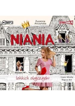 Niania lekkich obyczajów audiobook