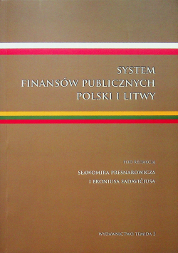 System finansów publicznych Polski i Litwy