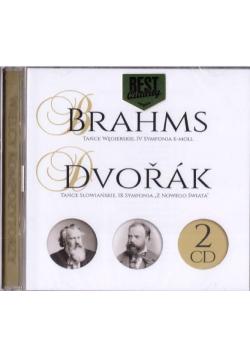 Wielcy kompozytorzy - Brahms, Dvorak (2 CD)
