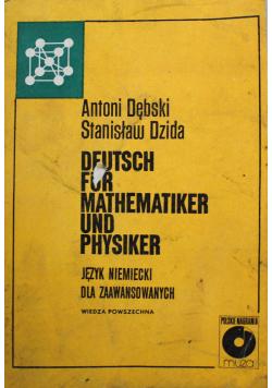 Deutsch fur mathematiker und physiker