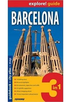 Explore! guide Barcelona 3w1