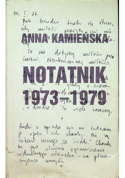 Notatnik 1973 1979