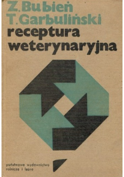 Receptura weterynaryjna