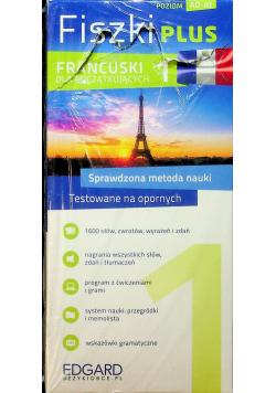 Francuski Fiszki Plus dla początkujących A0 - A1