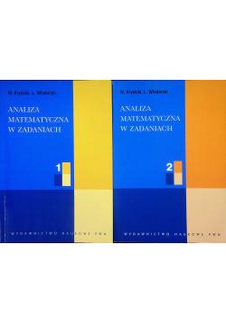 Analiza matematyczna w zadaniach tom 1 i 2