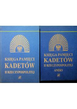 Księga pamięci kadetów II Rzeczypospolitej 2 tomy