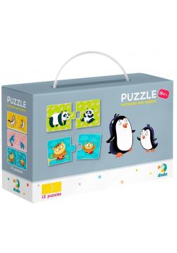Puzzle 12x2 Mamy i dzieci