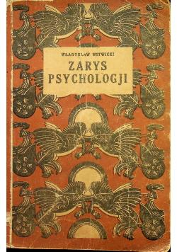 Zarys psychologji 1929 r