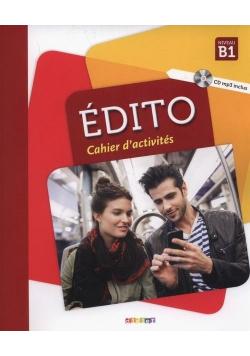 Edito B1. Cahier d'activites + CD