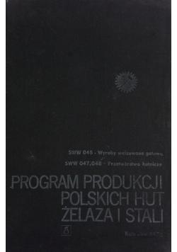 Program produkcji Polskich Hut żelaza i stali