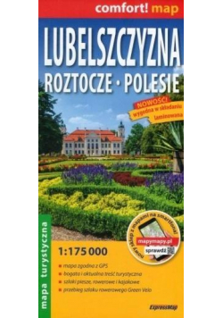 Comfort!map Lubelszczyzna, Roztocze... 1:175 000