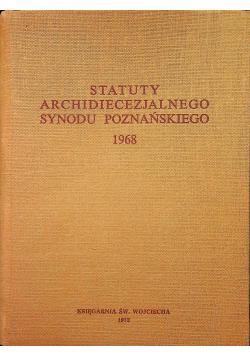 Statut Archidiecezjalnego Synodu Poznańskiego 1968