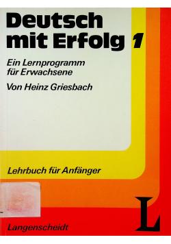 Deutsch mit Erfolg 1