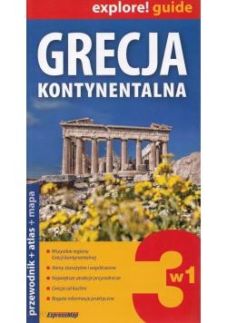 Grecja kontynentalna przewodnik i atlas