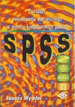 Przykłady wnioskowania statystycznego za pomocą komputerowego pakietu SPSS