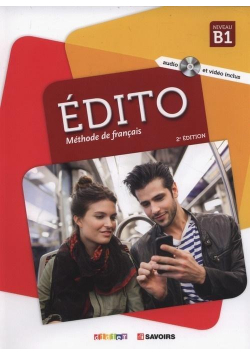 Edito B1 Methode de francais + CD