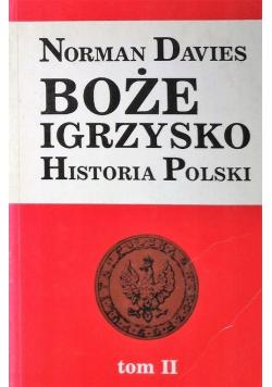 Boże Igrzysko Historia Polski tom 2