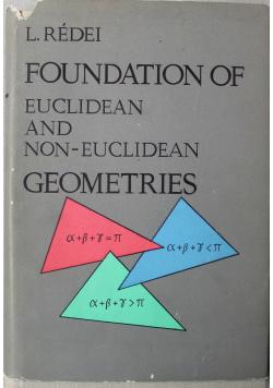 Foundation of Euclidean and Non Euclidean Geometries