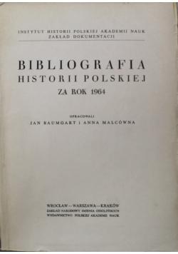 Bibliografia historii polskiej za rok 1964