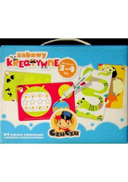 CzuCzu Zabawy kreatywne dla dzieci w wieku 3 do 4 lat