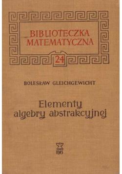 Elementy algebry abstrakcyjnej