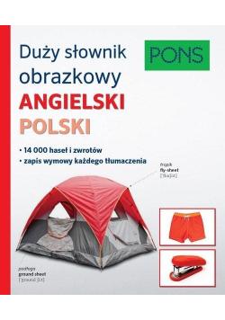 Duży słownik obrazkowy angielsko polski