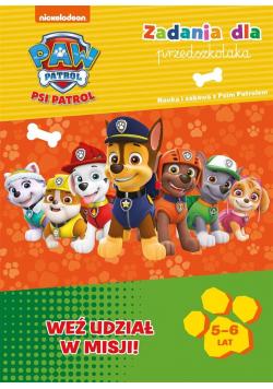 Psi Patrol. Zadania dla przedszkolaka