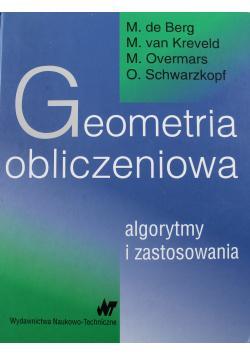 Geometria obliczeniowa Algorytmy i zastosowania