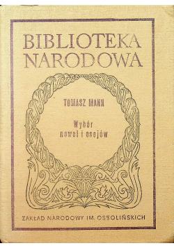 Mann wybór nowel i esejów