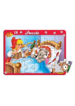 Puzzle 18 Maxi ramkowe, różne rodzaje