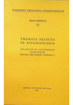 Themata selecta de ecclesiologia