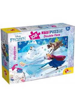 Puzzle dwustronne Supermaxi 108 Frozen