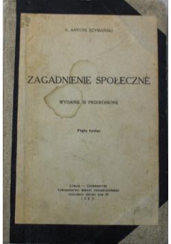 Zagadnienie społeczne 1939 r.