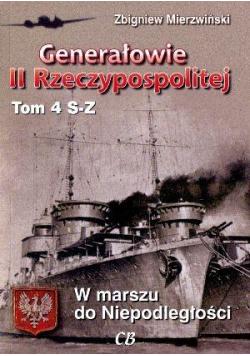 Generałowie II Rzeczypospolitej. Tom 4 S - Z