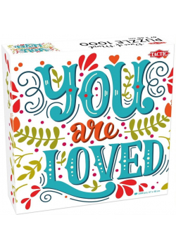 """Puzzle 1000 """"Piece of Mind"""" You are Loved"""