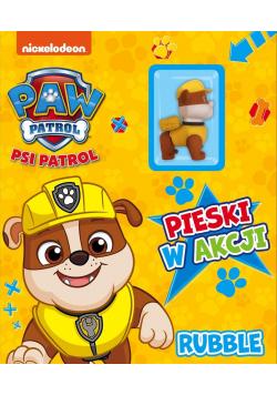 Psi Patrol. Pieski w Akcji. Rubble.