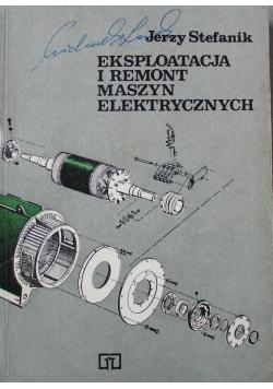 Eksploatacja i remont maszyn elektrycznych