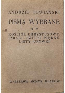 Pisma wybrane Towiańskiego Tom II 1920 r.