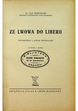 Ze Lwowa do Liberii 1938 r